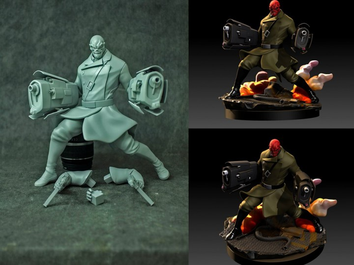 Avenger Assemble – Redskull 3D Print and Base Update