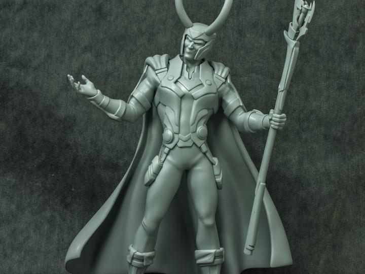 Avenger Assemble – LOKI 3D Print