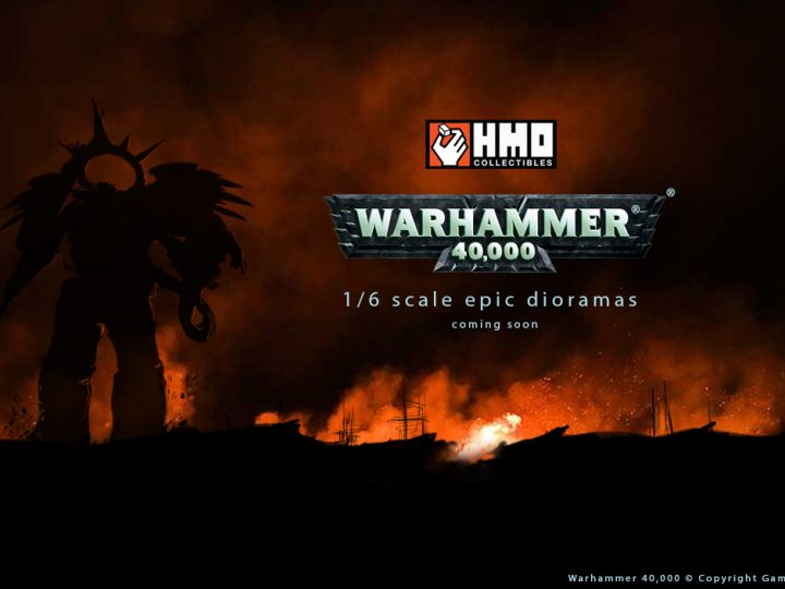 It's Official: HMO Teams Up with Games Workshop to Produce Warhammer 40,000 Statues!
