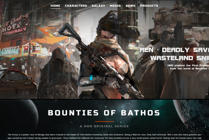 Bounties of Bathos Website and Lore.. Coming Soon!