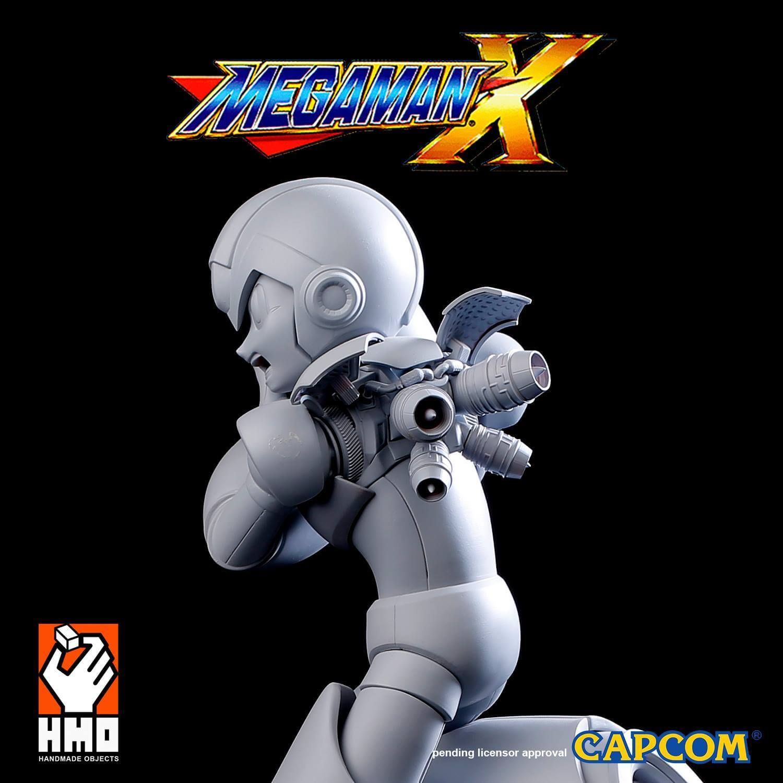Mega Man X - 3D Print