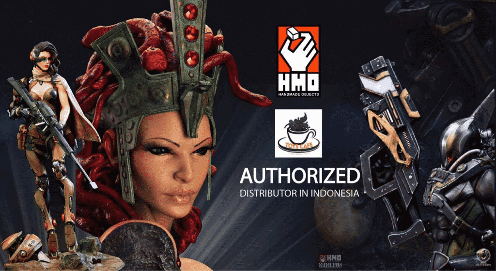 Great News for Our Indonesian Fans.. Toys Cafe is Named Authorised Distributor of HMO Collectibles