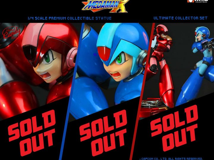 Megaman X is 100% SOLD OUT