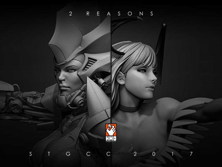 Get a First Look at Morrigan and get your very limited Black Edition of Sorrow at STGCC 2017
