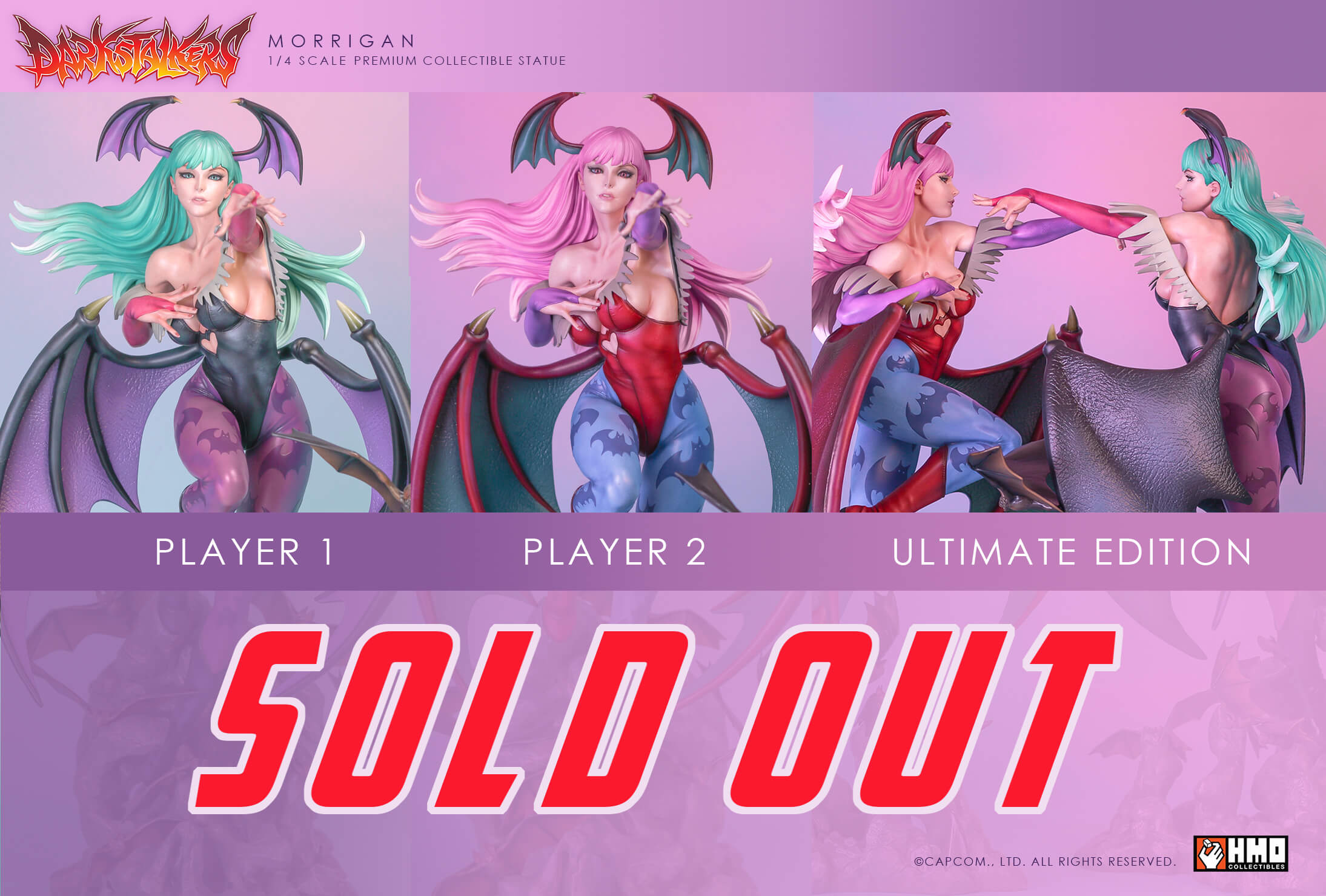 Morrigan is SOLD OUT!