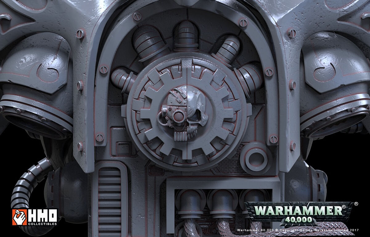 The First Official Look at HMO's Upcoming Warhammer 40K Diorama