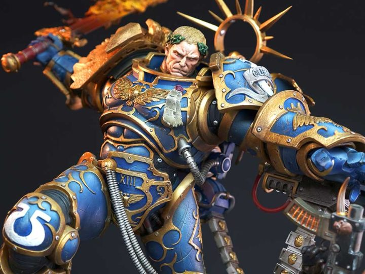Warhammer 40,000 Guilliman vs Chaos Space Marine Diorama Now Open for Pre-Orders!